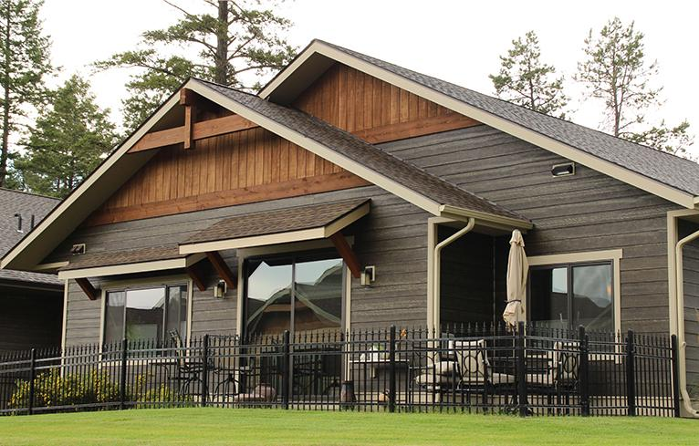 Pinnacle Duo Tone Rusticseries Is An Allura Fiber Cement Siding Product Finished With A Proprietary Coating Process Gives It The Earance Of Real Wood